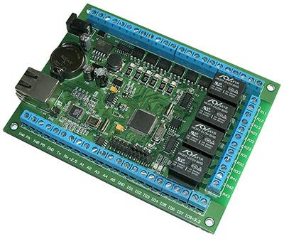 Сетевое Ethernet реле Laurent-2 с управление по Интернет